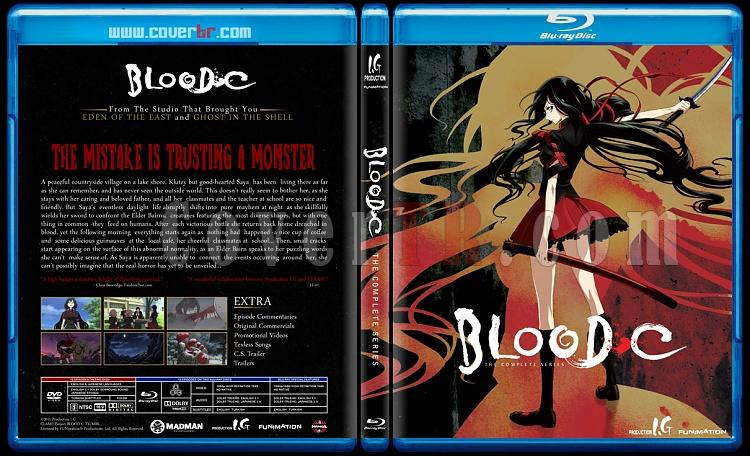 Blood-C - Custom Bluray Cover - English [2011]-bloodjpg