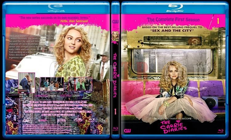 The Carrie Diaries (Season 1) - Custom Bluray Cover - English [2012-?]-blu-rayjpg