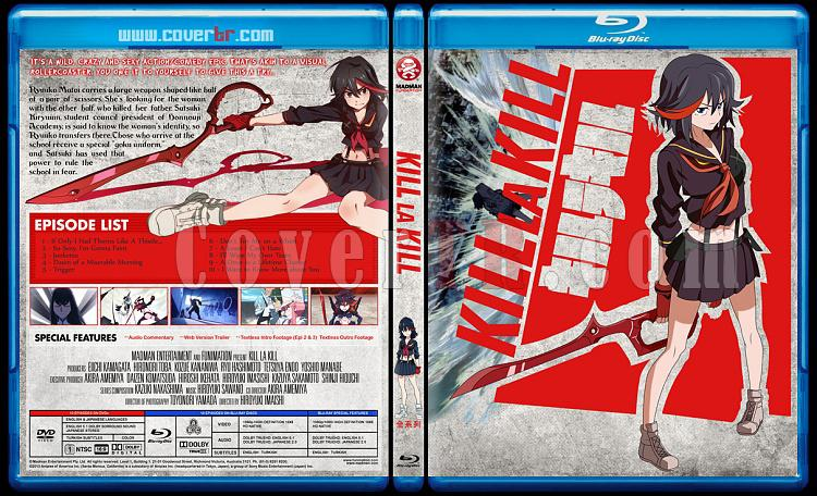 Kill La Kill - Custom Bluray Cover - English [2013]-blu-ray-1-disc-flat-3173x1762-11mmjpg