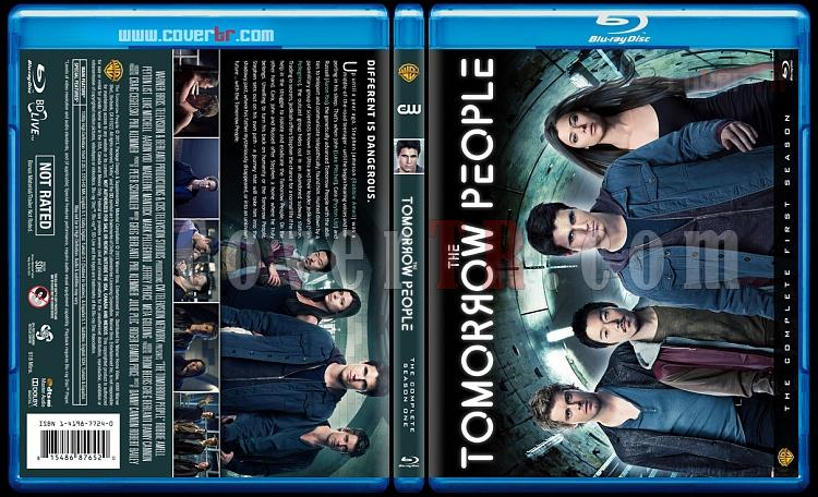 The Tomorrow People (Season 1) - Custom Bluray Cover - English [2013]-tomorrowjpg