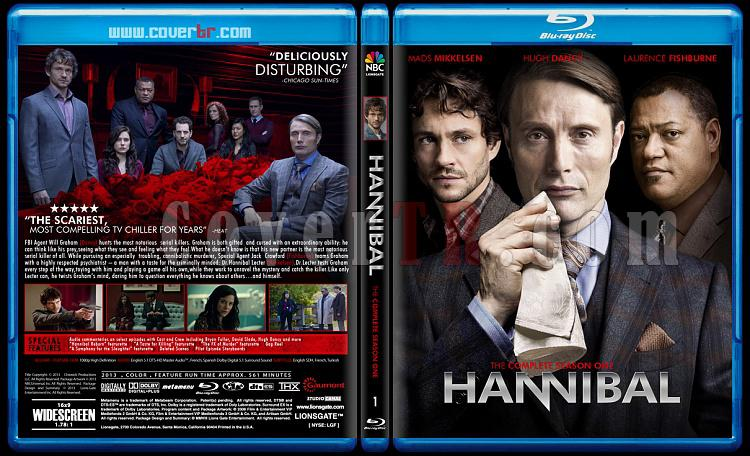 Hannibal (Season 1) - Custom Bluray Cover - English [2013]-hannibaljpg