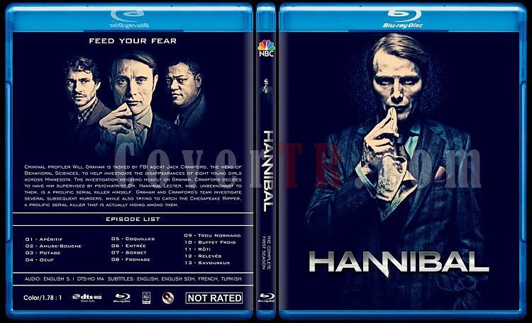 Hannibal (Season 1) - Custom Bluray Cover - English [2013]-hannibal-season-1-custom-bluray-cover-ctrjpg