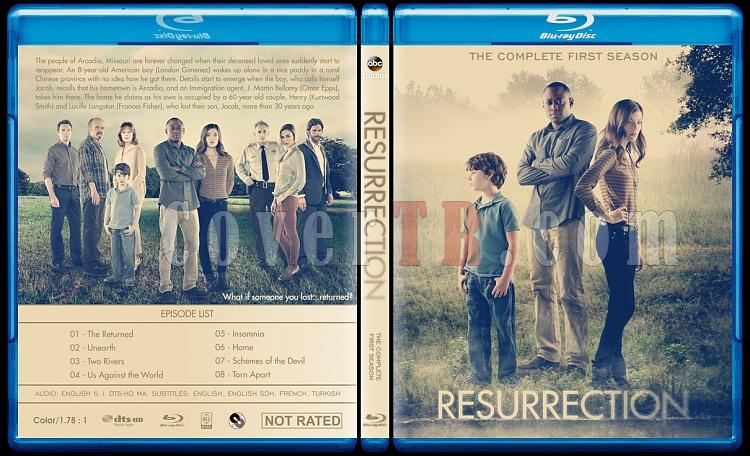 Resurrection (Season 1) - Custom Bluray Cover - English [2014]-resurrection-season-1-custom-bluray-cover-ctrjpg