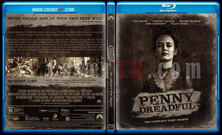 Penny Dreadful (Season 1) - Custom Bluray Cover - English [2014]-blu-ray-1-disc-flat-3173x1762-11mmjpg