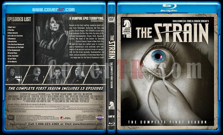 The Strain (Season 1) - Custom Bluray Cover - English [2014]-blu-ray-1-disc-flat-3173x1762-11mmjpg