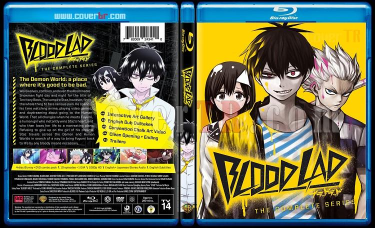 Blood Lad - Scan Bluray Cover - English [2013]-bloodjpg