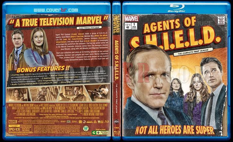 Agents of S.H.I.E.L.D. (Season 1) - Custom Bluray Cover - English [2013]-prevjpg