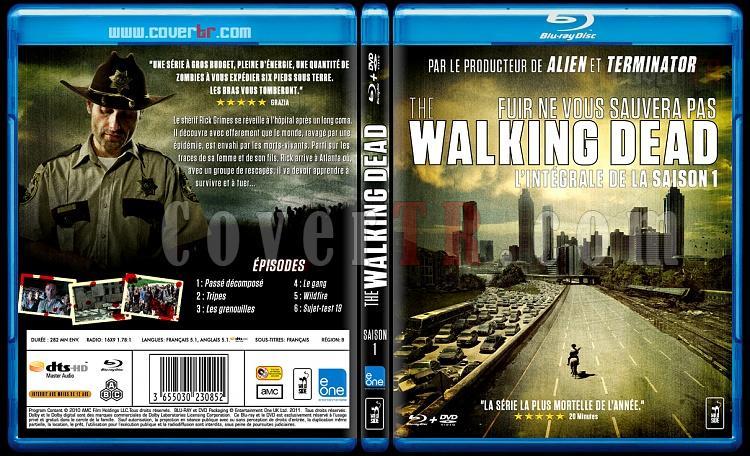 The Walking Dead (Season 1) - Custom Bluray Cover Box Set - French [2010-?]-walkingjpg