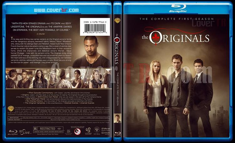 The Originals (Season 1) - Custom Bluray Cover - English [2013]-originals-s01jpg