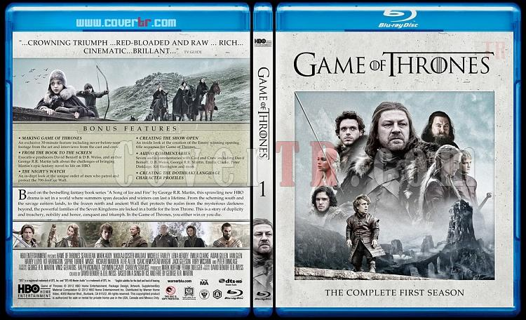Game Of Thrones (Season 1-?)  - Custom Bluray Cover Set - English [2011–?]-season-1-previewjpg