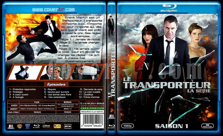 Transporter: The Series (Season 1) - Custom Bluray Cover - French [2012-?]-le-transporteur-la-serie-v1jpg