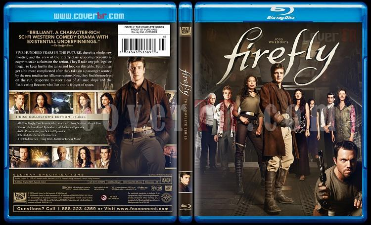 Firefly (Season 1) - Custom Bluray Cover - English [2002-2003]-fireflybluraycoverbunnydojo0jpg