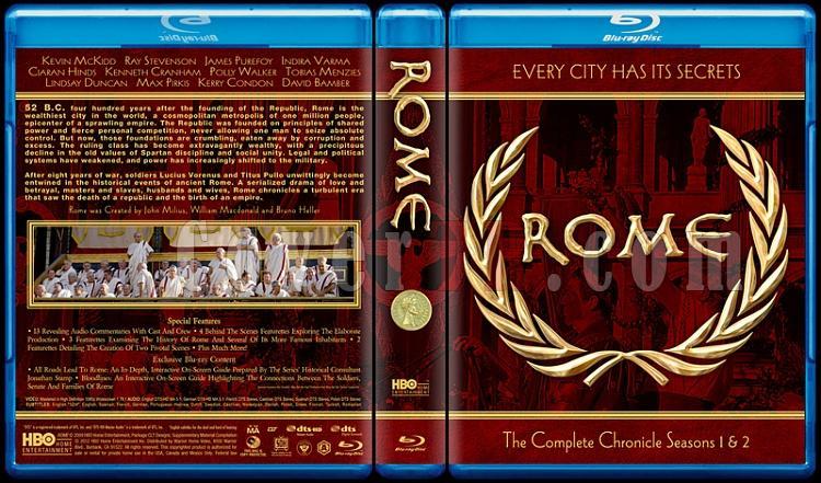 Rome (Seasons 1-2) - Custom Bluray Cover Box Set - English [2005-2007]-rome-seasons-1-2-custom-bluray-cover-box-setjpg