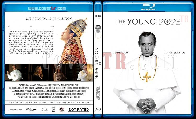 The Young Pope (Season 1) - Custom Bluray Cover - English [2016]-young-pope-season-1-custom-bluray-cover-ctrjpg