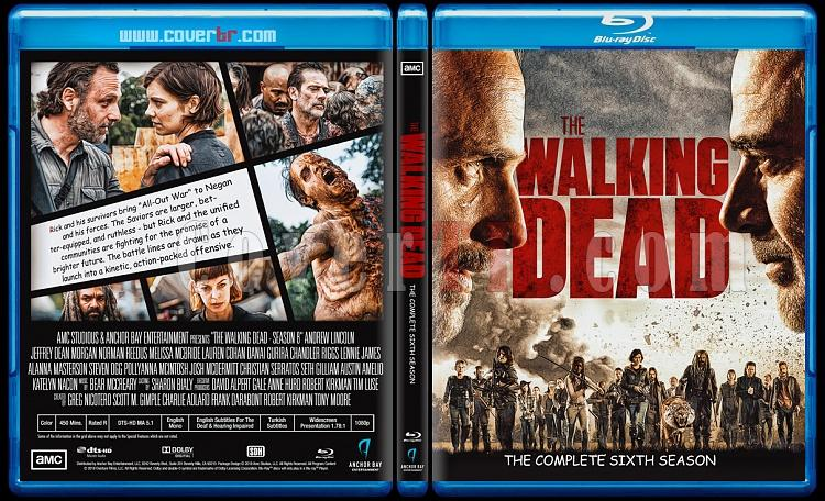 The Walking Dead (Season 8) - Custom Dvd Bluray Box Set - English [2018]-3jpg