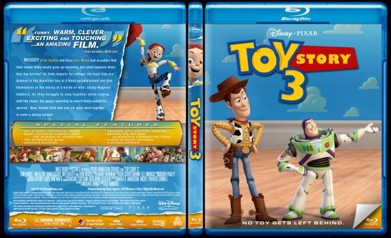 Toy Story (Oyuncak Hikayesi) - Custom Bluray Cover Set - English-3jpg