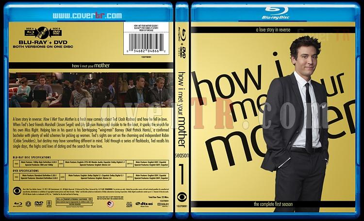 How I Met Your Mother (Seasons 1-9) - Custom Bluray Cover Set - English [2005-2014]-1jpg