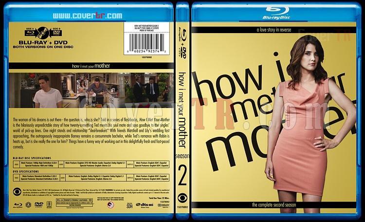How I Met Your Mother (Seasons 1-9) - Custom Bluray Cover Set - English [2005-2014]-2jpg