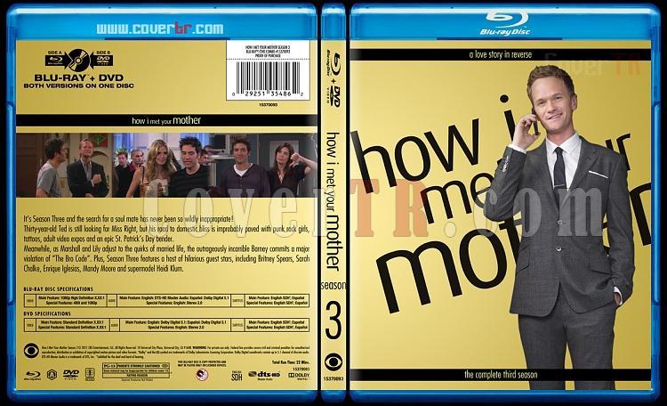 How I Met Your Mother (Seasons 1-9) - Custom Bluray Cover Set - English [2005-2014]-3jpg