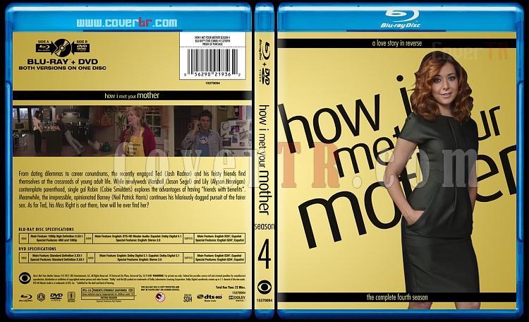 How I Met Your Mother (Seasons 1-9) - Custom Bluray Cover Set - English [2005-2014]-4jpg