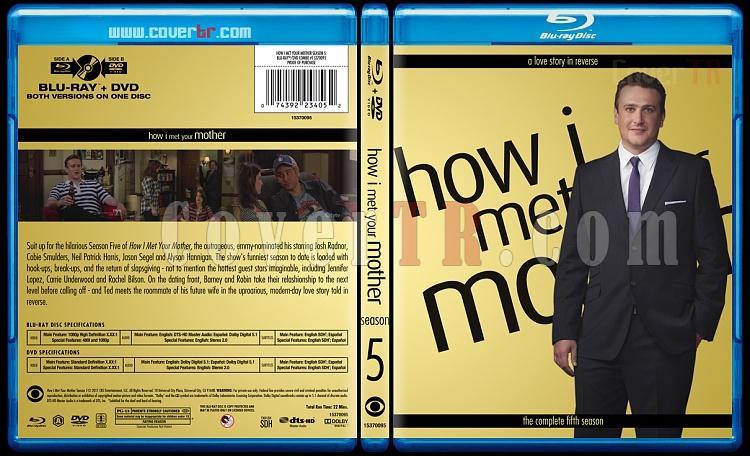 How I Met Your Mother (Seasons 1-9) - Custom Bluray Cover Set - English [2005-2014]-5jpg
