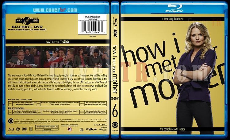 How I Met Your Mother (Seasons 1-9) - Custom Bluray Cover Set - English [2005-2014]-6jpg