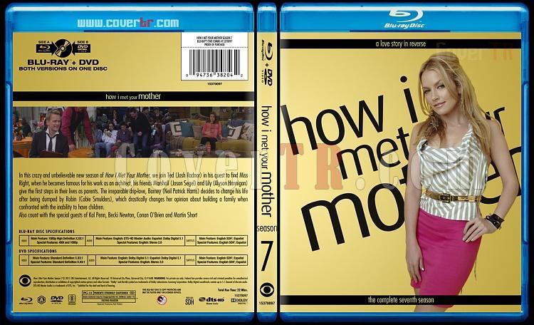 How I Met Your Mother (Seasons 1-9) - Custom Bluray Cover Set - English [2005-2014]-7jpg