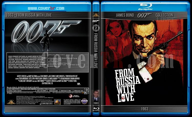 James Bond Collection - Custom Bluray Cover Set - English-1963-bond_007___from_russia_with_lovejpg