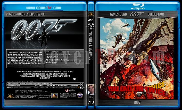 James Bond Collection - Custom Bluray Cover Set - English-1967-bond_007___you_only_live_twicejpg