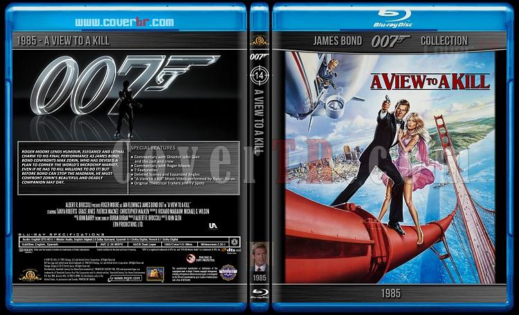 James Bond Collection - Custom Bluray Cover Set - English-1985-bond_007___a_view_to_a_killjpg
