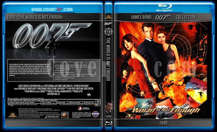 James Bond Collection - Custom Bluray Cover Set - English-1999-bond_007___the_world_is_not_enoughjpg
