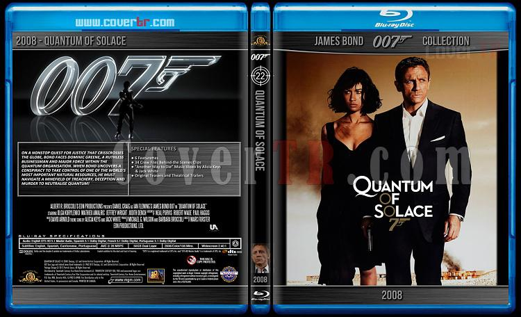 James Bond Collection - Custom Bluray Cover Set - English-2008-bond_007___quantum_of_solacejpg