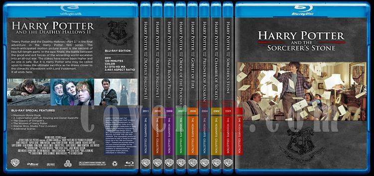Harry Potter Collection - Custom Bluray Cover Set - English-harry-potter-collection-blurayjpg