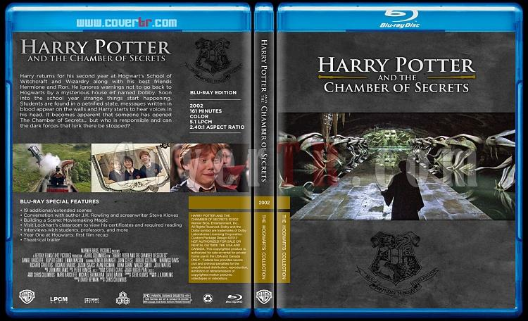 Harry Potter Collection - Custom Bluray Cover Set - English-hp2onizlemejpg