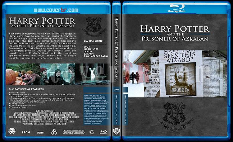 Harry Potter Collection - Custom Bluray Cover Set - English-hp3onizlemejpg