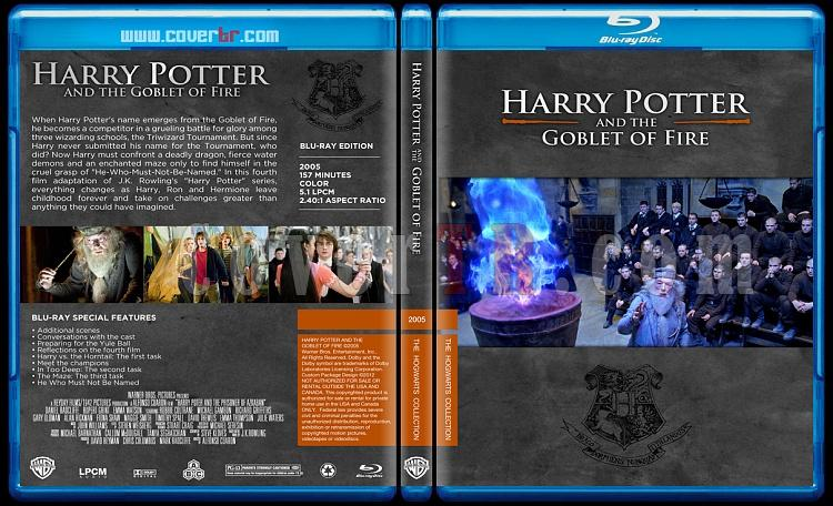 Harry Potter Collection - Custom Bluray Cover Set - English-hp4onizlemejpg