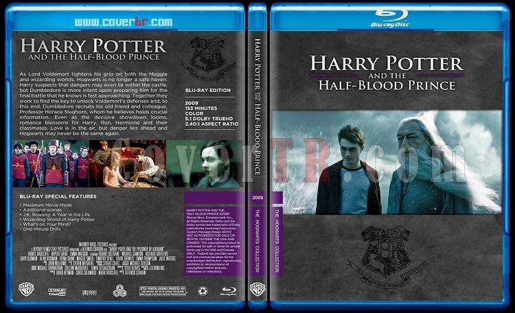 Harry Potter Collection - Custom Bluray Cover Set - English-hp6onizlemejpg
