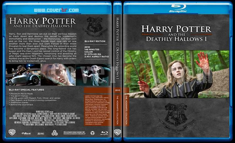 Harry Potter Collection - Custom Bluray Cover Set - English-hp7onizlemejpg