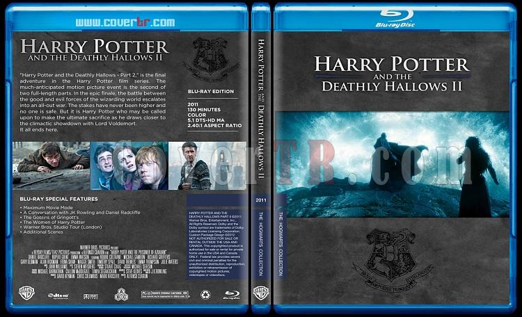 Harry Potter Collection - Custom Bluray Cover Set - English-hp8onizlemejpg