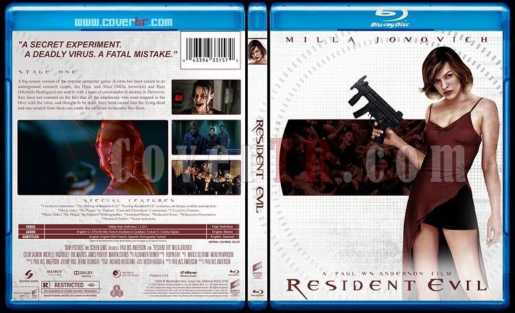 Resident Evil Collection (Ölümcül Deney Koleksiyonu) - Custom Bluray Cover - English-resident-evil-2002jpg