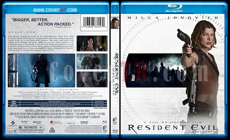 Resident Evil Collection (Ölümcül Deney Koleksiyonu) - Custom Bluray Cover - English-resident-evil-2004jpg