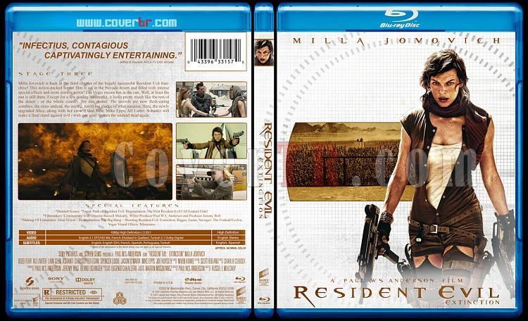 Resident Evil Collection (Ölümcül Deney Koleksiyonu) - Custom Bluray Cover - English-resident-evil-2007jpg