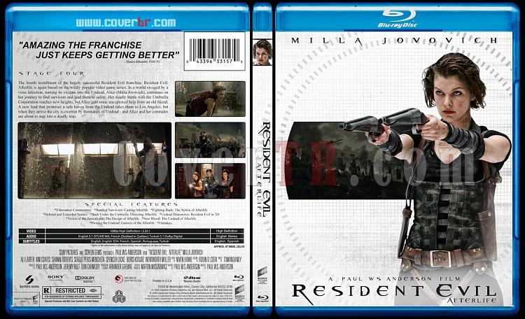 Resident Evil Collection (Ölümcül Deney Koleksiyonu) - Custom Bluray Cover - English-resident-evil-2009jpg