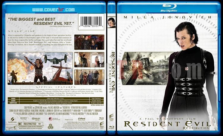 Resident Evil Collection (Ölümcül Deney Koleksiyonu) - Custom Bluray Cover - English-resident-evil-2012jpg
