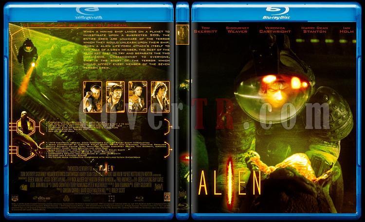 Alien Collection (Yaratık Koleksiyonu) - Custom Bluray Cover Set - English-1jpg