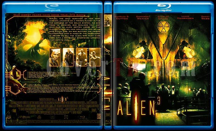 Alien Collection (Yaratık Koleksiyonu) - Custom Bluray Cover Set - English-3jpg