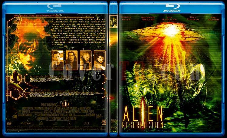 Alien Collection (Yaratık Koleksiyonu) - Custom Bluray Cover Set - English-4jpg