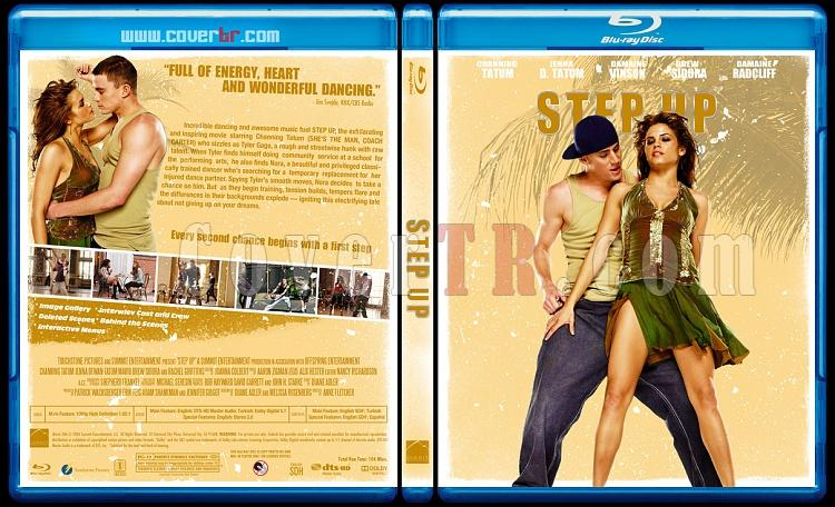 Step Up  Collection - Custom Bluray Cover Set - English-step-up-2006jpg