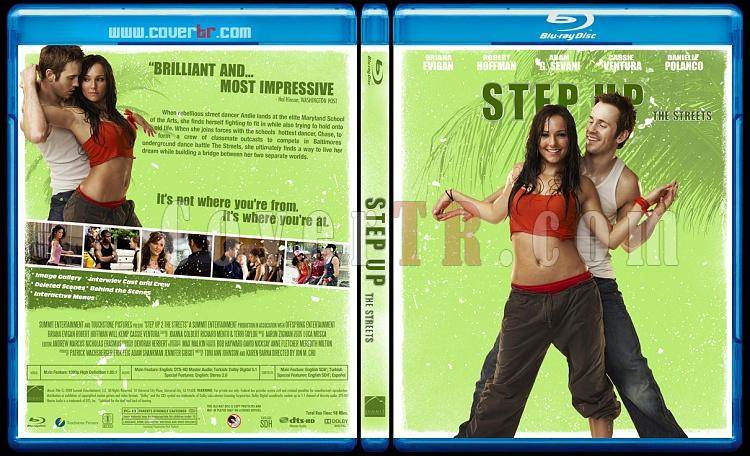 Step Up  Collection - Custom Bluray Cover Set - English-step-up-2008jpg