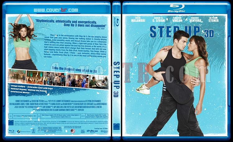 Step Up  Collection - Custom Bluray Cover Set - English-step-up-3djpg